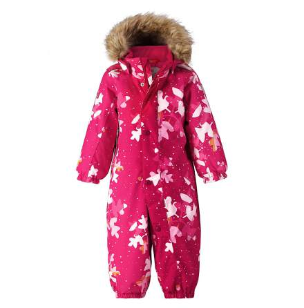Reimatec Louna 510300-3607 Cranberry Pink vinterdress