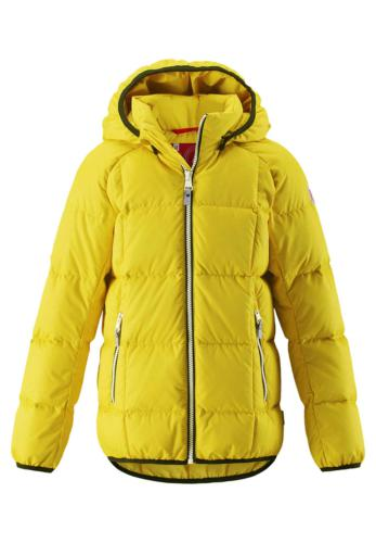 Reima Jord 531294-2390 Yellow vinterjakke dun