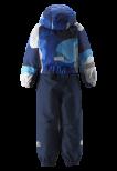 Reimate Kiddo Snowy 520269B-6502 Brave Blue vinterdress