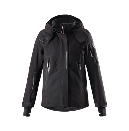 Reimatec + Moirana 531306-9990 Black vinterjakke