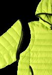 Reima Fleet 531389-8320 Lime 2in1 tynn dunjakke