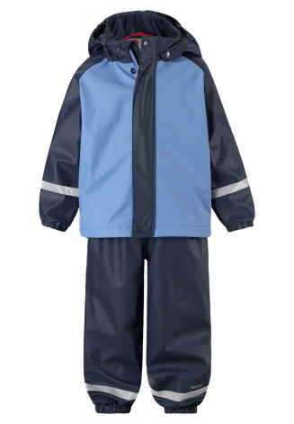 Reima Joki 523108-6550 Denim Blue regnsett m/fleecefór