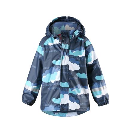 Reima Koski 521507-6982 Navy regnjakke med fleece fór