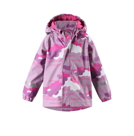 Reima Koski 521507-5182 Heather Pink regnjakke med fleece fór