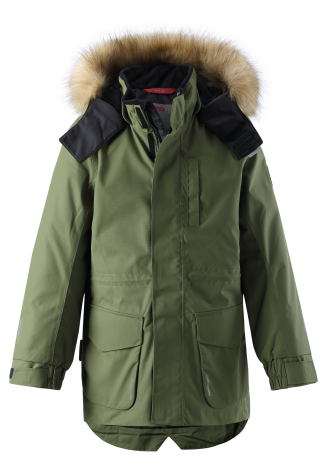 Reimatec Naapuri 531351-8930 Khaki Green vinterjakke