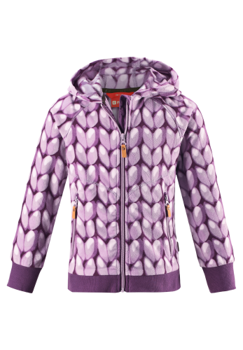 Reima Myra 536314-5188 Heather Pink fleecejakke
