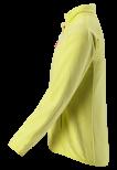 Reima Alagna 536306-2220 Yellow fleecejakke
