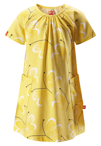 Reima Haili 515001-2333 Yellow kjole