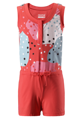 Reima Sommersault 536282-3340 Bright Red heldrakt/jumpsuit