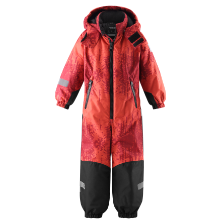 Reimatec Kiddo Snowy 520269B-3911 Lingonberry Red vinterdress