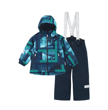 Reimatec Hamara 523127-6981 Navy vintersett jakke/bukse
