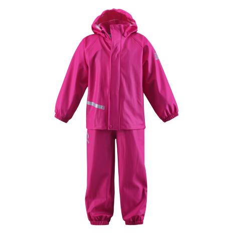 Reima Raini 523064-3640 Pink regntøysett jakke/bukse