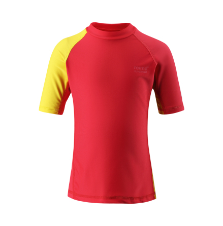 Reima Fiji 581492-3710 Flame Red uv t-shirt