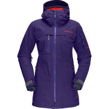 - 40 %!!  Norrøna Røldal Gore-tex insulated Jacket Lady farge Deep Purple